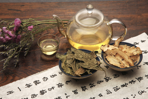 tea set for main page