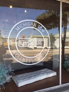 Michigan TCM Wellness Center window logo