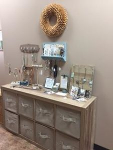 Starfish Project jewelry display at Michigan TCM Wellness Center
